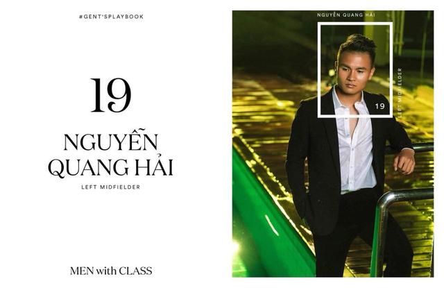 Các cầu thủ U23 Việt Nam lột xác thành những quý ông lịch lãm trong bộ ảnh mới - Ảnh 8.