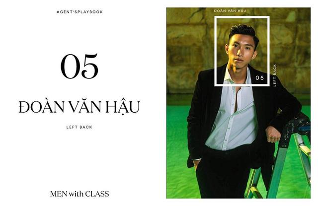 Các cầu thủ U23 Việt Nam lột xác thành những quý ông lịch lãm trong bộ ảnh mới - Ảnh 10.