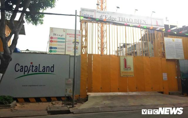 Dự án của Capitaland Thanh Niên gây sụt lún nhà dân: Sở Xây dựng yêu cầu khôi phục hiện trạng ban đầu - Ảnh 1.
