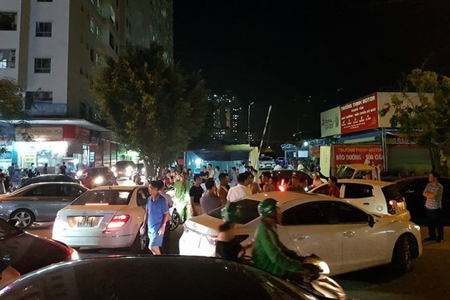Náo loạn vì bãi đỗ xe lậu lớn nhất Linh Đàm bị đâyng cửa - Ảnh 6.