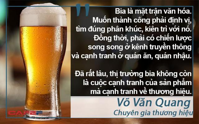 Thị trường bia Việt khó nhằn, nhiều đại gia tháo chạy - Ảnh 7.