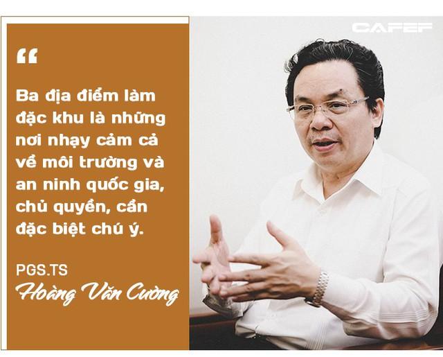 """PGS.TS Hoàng Văn Cường: Ưu đãi tiền thuê đất ở đặc khu """"tạo điều kiện"""" cho đầu cơ, găm đất! - Ảnh 8."""