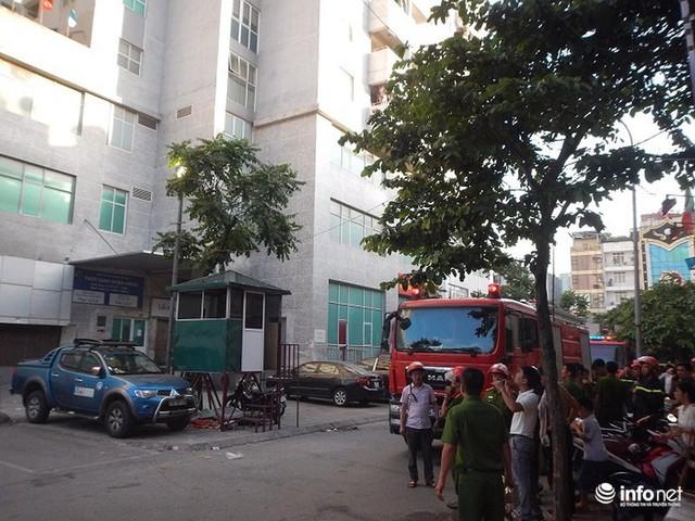 Hà Nội: Cháy ở toà chung cư CT3 Bắc Hà trên một vài con phố Nguyễn Trãi - Ảnh 4.