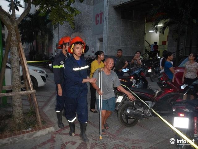 Hà Nội: Cháy ở toà chung cư CT3 Bắc Hà trên một vài con phố Nguyễn Trãi - Ảnh 6.