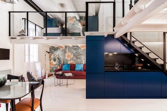Ngôi nhà trang trí màu sắc tuyệt đẹp theo phong 1 vàih Ý - Ảnh 4.