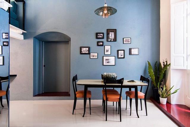 Ngôi nhà trang trí màu sắc tuyệt đẹp theo phong 1 vàih Ý - Ảnh 5.