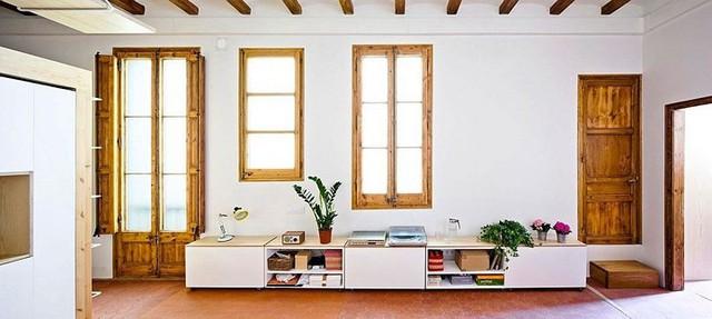 Sử dụng bên trong xe sáng tạo trong căn hộ cao tầng 70 m2 - Ảnh 1.