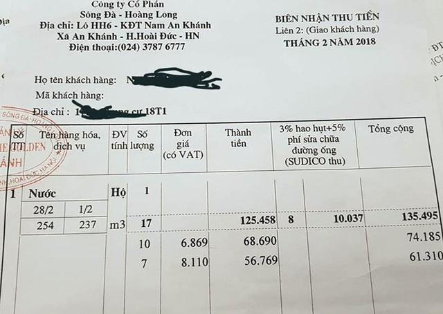 Vụ tiền nước tăng 800%: Cư dân có quyền khởi kiện - Ảnh 2.