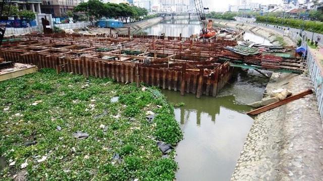 Vì sao dự án chống ngập 10.000 tỷ ở Sài Gòn ngưng thi công?   - Ảnh 7.