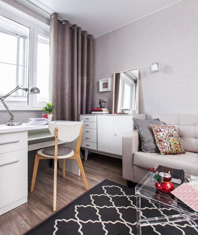 Ngắm căn hộ 37m2 với thiết kế nội thất đẹp ngỡ ngàng - Ảnh 4.