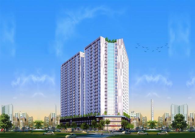 Cất nóc dự án nhà ở xã hội Thứ nhất ở Nha Trang - Ảnh 2.