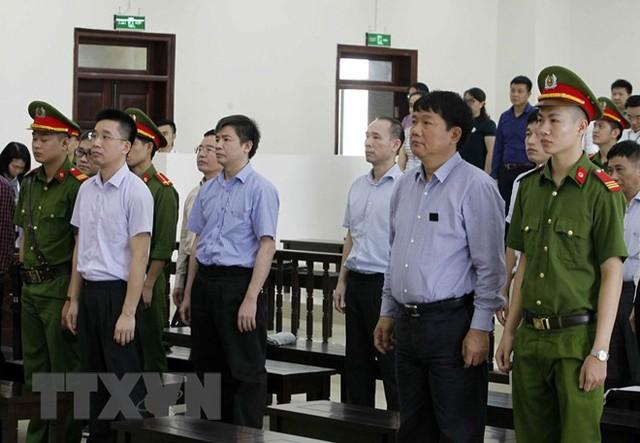 [Photo] Tòa án Hà Nội xét xử phúc thẩm bị cáo Đinh La Thăng - Ảnh 4.