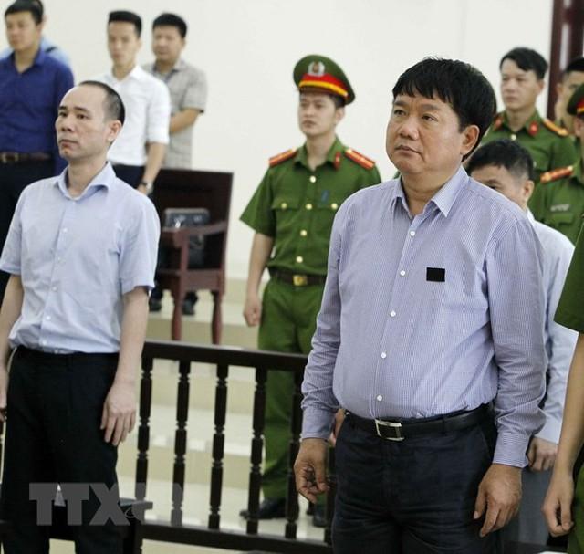 [Photo] Tòa án Hà Nội xét xử phúc thẩm bị cáo Đinh La Thăng - Ảnh 7.
