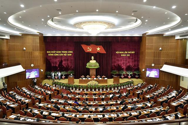 Chùm ảnh khai mạc Hội nghị Trung ương 7 - Ảnh 8.
