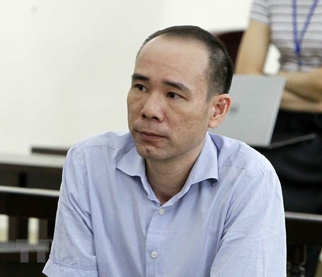 [Photo] Tòa án Hà Nội xét xử phúc thẩm bị cáo Đinh La Thăng - Ảnh 8.