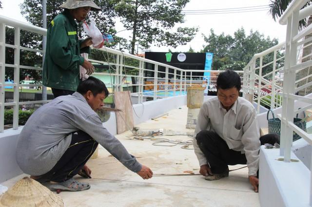 Ngắm cầu bộ hành 11 tỷ ở cửa ngõ sân bay Tân Sơn Nhất - Ảnh 10.