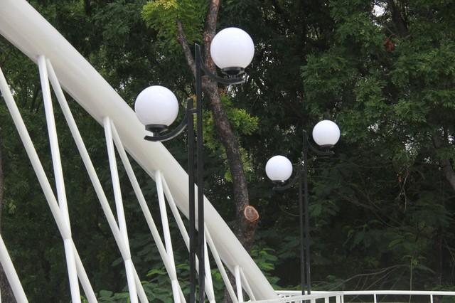Ngắm cầu bộ hành 11 tỷ ở cửa ngõ sân bay Tân Sơn Nhất - Ảnh 8.