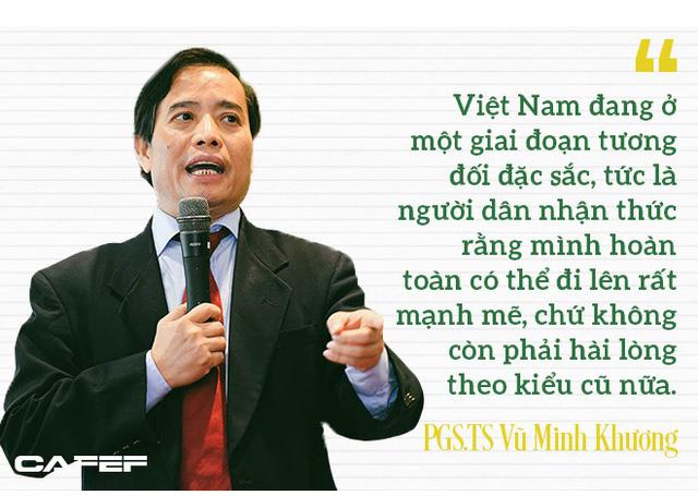 PGS.TS Vũ Minh Khương: Những quốc gia phát triển thần kỳ như Singapore, Hàn Quốc đều xuất phát từ người đứng đầu khóc trước số phận của dân tộc - Ảnh 4.
