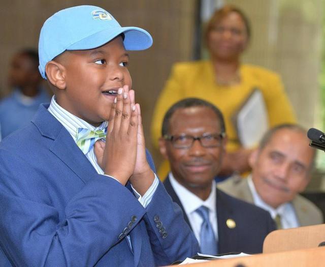 Kỳ tích: Thần đồng 11 tuổi nhận học bổng toàn phần của đại học hàng đầu nước Mỹ - Ảnh 1.