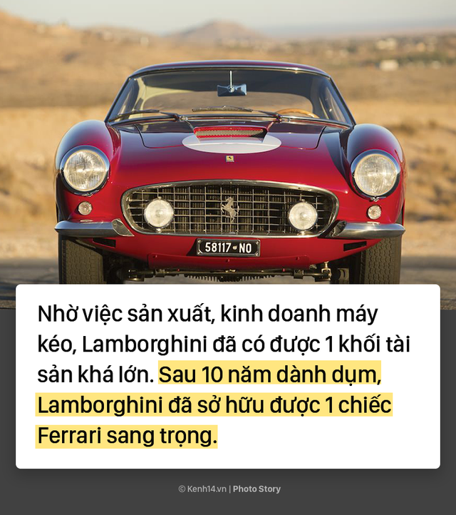 Ông chủ Lamborghini thành lập hãng xe ô tô chỉ vì... tự ái với Ferrari - Ảnh 3.