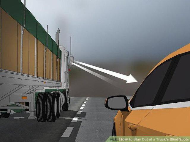 Thiếu kiên nhẫn, chần chừ và những sai lầm chết người dẫn đến tai nạn ở điểm mù của xe tải - Ảnh 3.