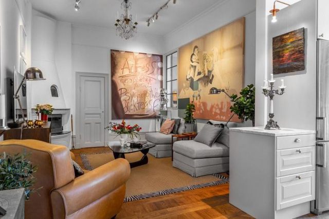 Ngỡ ngàng ngắm căn hộ 69m2 đẹp tựa tranh vẽ - Ảnh 3.