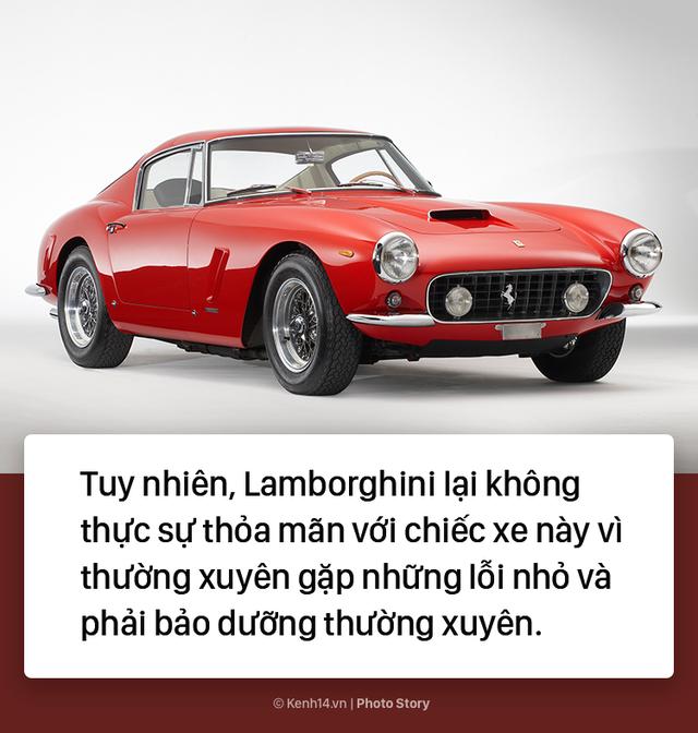 Ông chủ Lamborghini thành lập hãng xe ô tô chỉ vì... tự ái với Ferrari - Ảnh 4.