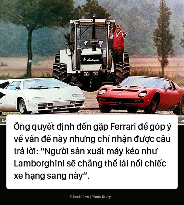 Ông chủ Lamborghini thành lập hãng xe ô tô chỉ vì... tự ái với Ferrari - Ảnh 5.