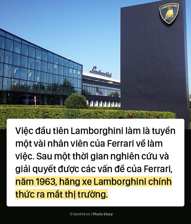 Ông chủ Lamborghini thành lập hãng xe ô tô chỉ vì... tự ái với Ferrari - Ảnh 7.