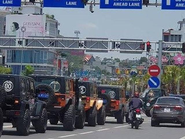 Quảng Ninh lên tiếng về đoàn ô tô TQ xuất hiện ở Hạ Long - Ảnh 1.