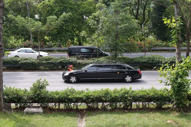 [ẢNH] Cận cảnh đoàn xe hộ tống hùng hậu của lãnh đạo Triều Tiên Kim Jong-un tại Singapore - Ảnh 12.