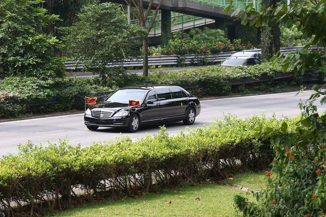 [ẢNH] Cận cảnh đoàn xe hộ tống hùng hậu của lãnh đạo Triều Tiên Kim Jong-un tại Singapore - Ảnh 3.