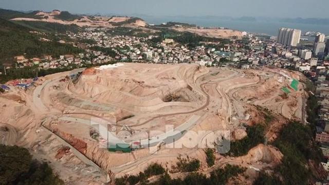 Tận thấy các ngọn đồi trọc đầu vì dự án ở Hạ Long - Ảnh 5.
