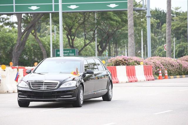 [ẢNH] Cận cảnh đoàn xe hộ tống hùng hậu của lãnh đạo Triều Tiên Kim Jong-un tại Singapore - Ảnh 7.