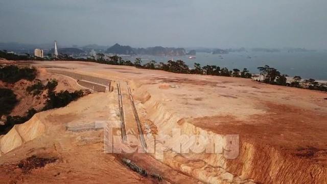 Tận thấy các ngọn đồi trọc đầu vì dự án ở Hạ Long - Ảnh 7.