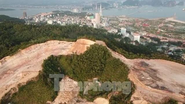 Tận thấy các ngọn đồi trọc đầu vì dự án ở Hạ Long - Ảnh 9.
