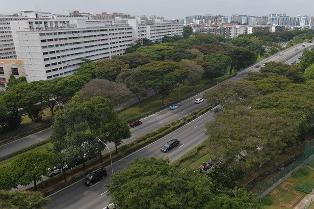 [ẢNH] Cận cảnh đoàn xe hộ tống hùng hậu của lãnh đạo Triều Tiên Kim Jong-un tại Singapore - Ảnh 10.