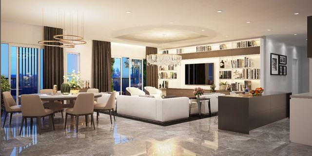 Doanh nghiệp địa ốc tăng tranh giành bằng căn hộ chung cư chuyên biệt - Ảnh 1.