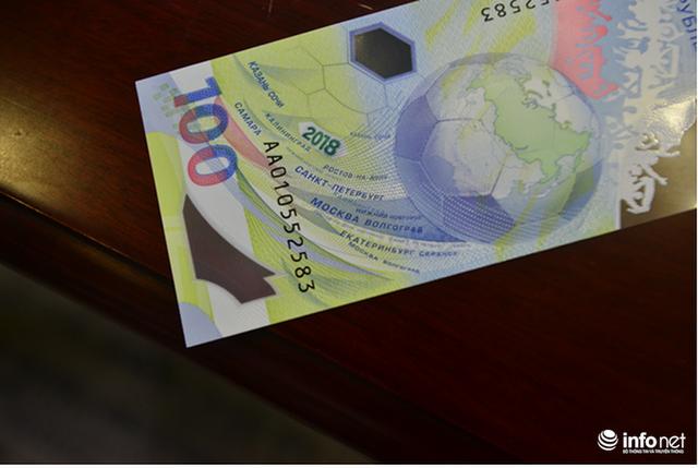 Những hình ảnh lạ trên tờ tiền 100 Ruble Nga khiến giới hâm mộ bóng đá săn lùng - Ảnh 4.
