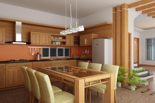Cách thiết kế nội thất phòng bếp thêm rộng - Ảnh 2.