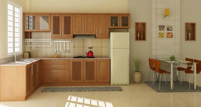 Cách thiết kế nội thất phòng bếp thêm rộng - Ảnh 3.
