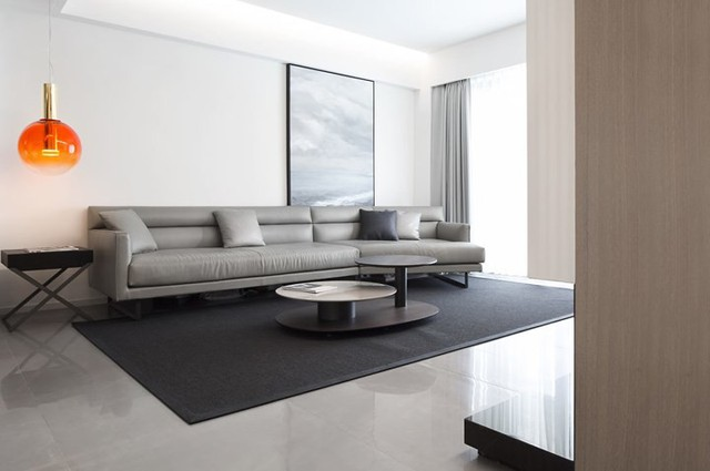Căn hộ màu trắng thiết kế đơn giản và tinh tế - Ảnh 3.