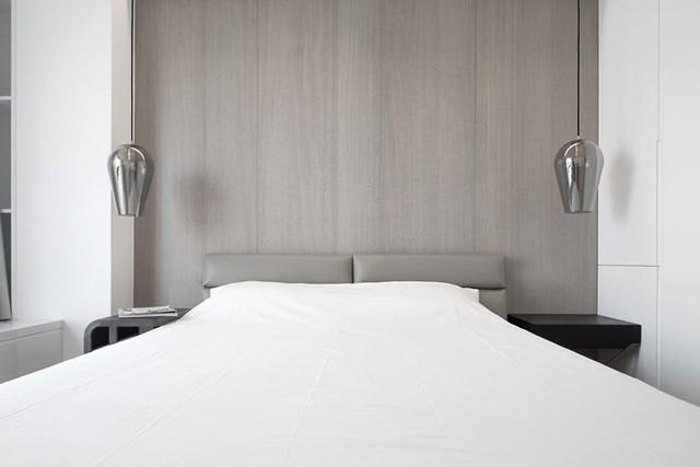 Căn hộ màu trắng thiết kế đơn giản và tinh tế - Ảnh 8.