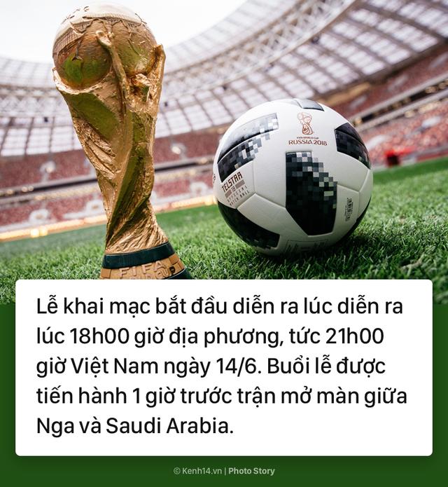 Có gì thú vị để chờ đợi ở lễ khai mạc World Cup 2018? - Ảnh 1.