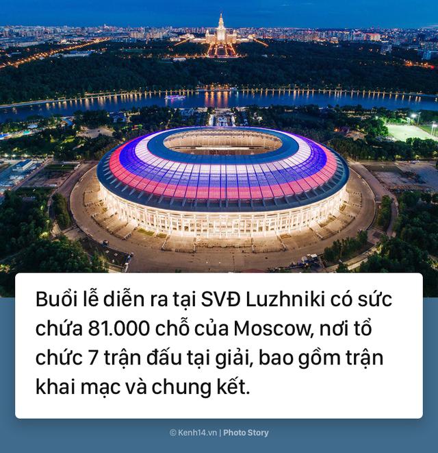 Có gì thú vị để chờ đợi ở lễ khai mạc World Cup 2018? - Ảnh 2.