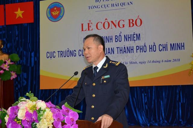 Ông Đinh Ngọc Thắng giữ chức Cục trưởng Cục Hải quan TP.HCM - Ảnh 3.