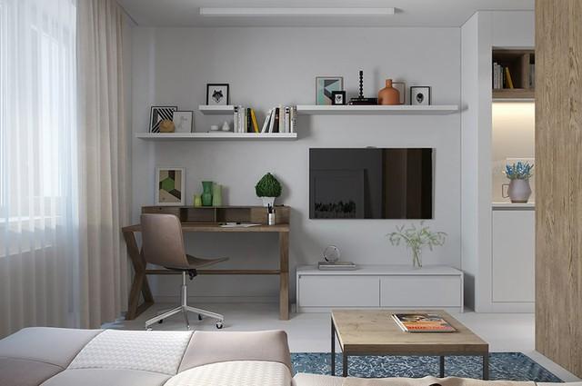 Căn hộ 30 m2 sử dụng nội thất sáng tạo - Ảnh 5.