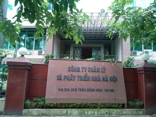 Bắt giam nguyên Tổng giám đốc Cty Quản lý & Phát triển nhà Hà Nội - Ảnh 1.