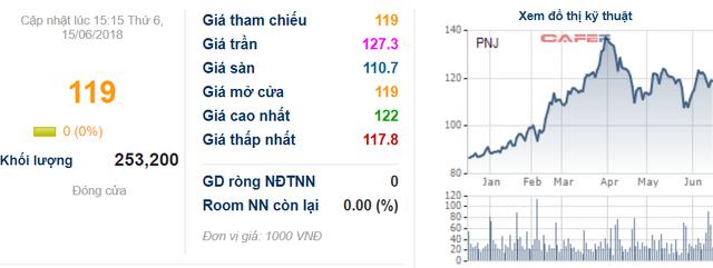 PNJ công bố đạt 580 tỷ LNTT trong 5 tháng, thực hiện 53% chỉ tiêu - Ảnh 1.