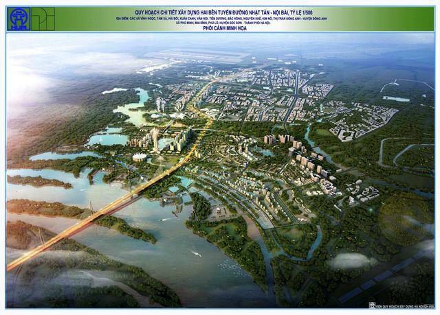 Cận cảnh về siêu đô thị thông minh hơn 4 tỷ USD Nhật Tân – Nội Bài trong tương lai - Ảnh 3.